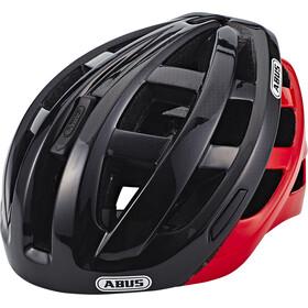 ABUS In-Vizz Ascent Cykelhjälm röd/svart